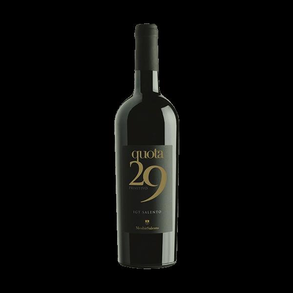 Der Quota 29 passt gut zu den verschiedensten herzhaften Gerichten. Allerdings eignet er sich auch als Rotwein für einen geselligen Abend.