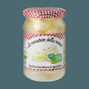Süß-saure Zwiebeln, Conserve della Nonna