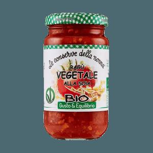 Ragu´ Vegetale alla Soja, Conserve della nonna