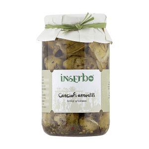 Carciofi arrostiti in sonnenblumenöl, Inserbo