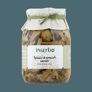 Carciofi condimento spicchi in öl, Inserbo