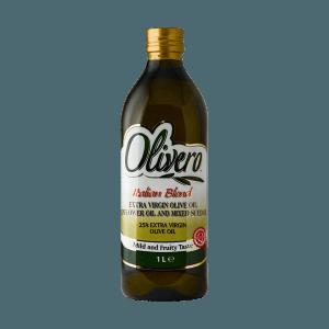 Öl E.V 25%+ Sonnenbkumenöl, Olivero