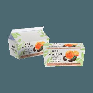 Ballotin orange e cioccolato, Majani
