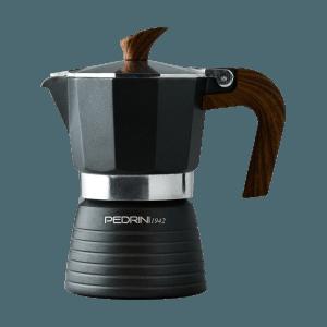 Caffettiera Celebration schwarz 2 Tassen, Pedrini