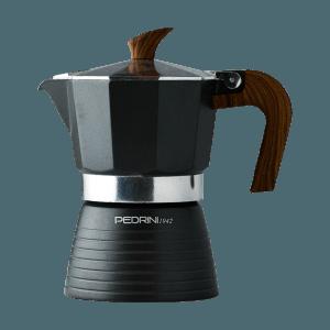 Caffettiera Celebration schwarz 3 Tassen, Pedrini