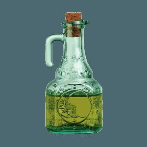 Ölflasche Helios mit Verschluss, Bormioli