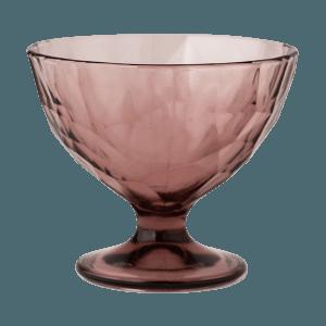 Dessertglas Diamond Taubenblau, Bormioli